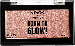 Highlighter - NYX Professional Makeup Born To Glow Highlighter — Bild N1