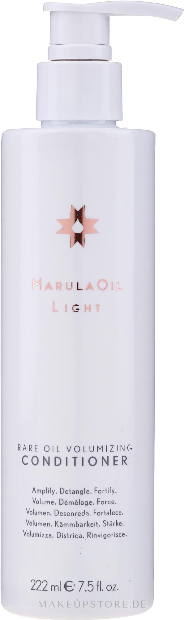 Conditioner mit Marulaöl für mehr Volumen - Paul Mitchell Marula Oil Light Volumizing Conditioner — Bild 222 ml