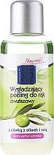 Düfte, Parfümerie und Kosmetik Zwei-Phasen-Handpeeling mit Olive - Pharma CF Cztery Pory Roku Olive Hand Two-Phase Peeling