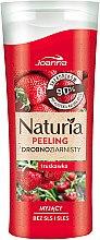 Düfte, Parfümerie und Kosmetik Duschpeeling mit Erdbeerduft - Joanna Naturia Peeling