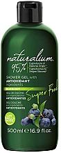 Düfte, Parfümerie und Kosmetik Antioxidatives Duschgel mit Blaubeere - Naturalium Shower Gel With Antioxidant