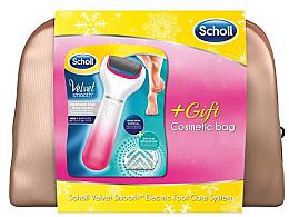 Düfte, Parfümerie und Kosmetik Set - Scholl Velvet Smooth (roller/1pcs + bag)