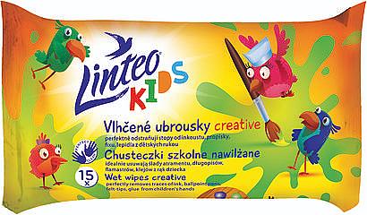 Sanfte und beruhigende Feuchttücher für Kinder 15 St. - Linteo Kids Creative — Bild N1