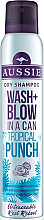 Düfte, Parfümerie und Kosmetik Trockenes Shampoo - Aussie Dry Shampoo Wash + Blow in a Can Tropical Punch
