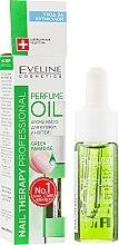 Düfte, Parfümerie und Kosmetik Parfümöl für Nagelhaut und Nägel - Eveline Cosmetics Nail Therapy Professional Green Paradise