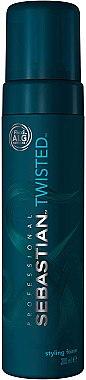 Stylingschaum für lockiges Haar - Sebastian Professional Twisted Curl Lifter Foam — Bild N1