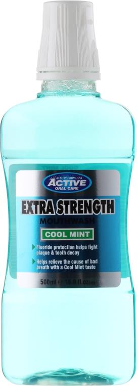 Mundwasser - Beauty Formulas Active Oral Care Extra Strength Cool Mint — Bild N1