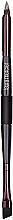 Düfte, Parfümerie und Kosmetik Doppelseitiger Augenbrauenpinsel - Laura Mercier Sketch & Intensify Double Ended Brow Brush