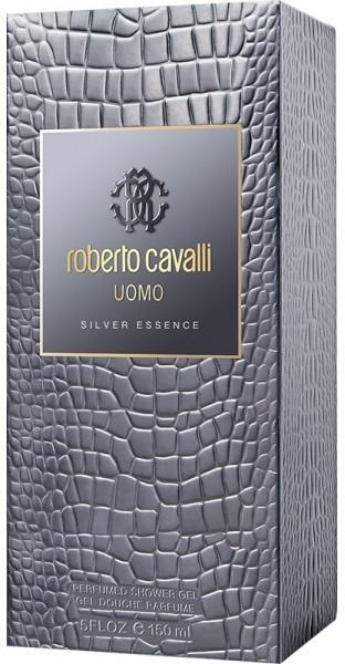 Roberto Cavalli Uomo Silver Essence - Duschgel — Bild N1
