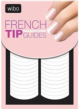 Schablonen für französische Maniküre - Wibo French Manicure Tip Guides — Bild N1