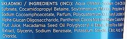 Feuchtigkeitsspendendes Shampoo mit Kokosnuss, Macadamia und Passionsfrucht für trockenes und sprödes Haar - Eveline Cosmetics Food For Hair Sweet Coconut Shampoo — Bild N2