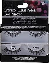 Düfte, Parfümerie und Kosmetik Künstliche Wimpern - Ardell Strip Lashes 6-Pack