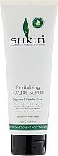 Düfte, Parfümerie und Kosmetik Revitalisierendes Gesichtspeeling mit Aloe Vera und Kamille - Sukin Facial Scrub