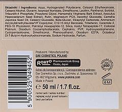 Nachtcreme für normale und Mischhaut 50+ - Yoskine Classic Platin Peptide Face Cream 50+ — Bild N3
