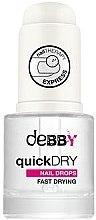 Düfte, Parfümerie und Kosmetik Nagellack-Schnelltrocknungstropfen - Debby Quick Dry Nail Drops