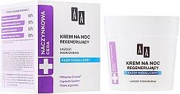 Düfte, Parfümerie und Kosmetik Regenerierende Nachtcreme - AA Cosmetics Vascular Skin Regenerating Night Cream