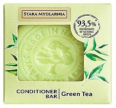 Düfte, Parfümerie und Kosmetik Fester Conditioner für das Haar mit grünem Tee - Stara Mydlarnia Green Tea Conditioner Bar