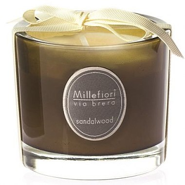 Duftkerze im Glas Sandalwood - Millefiori Milano Via Brera Candle Sandalwood — Bild N1