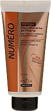 Düfte, Parfümerie und Kosmetik Restrukturierende Haarmaske mit Haferextrakt für schwaches und stapaziertes Haar - Brelil Numero Total Repair Mask