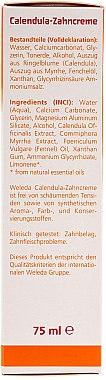Calendula-Zahncreme - Weleda Calendula-Zahncreme — Bild N3