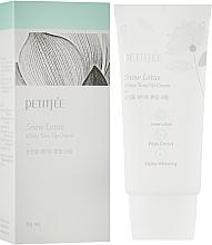 Düfte, Parfümerie und Kosmetik Feuchtigkeitsspendende und aufhellende Gesichtscreme mit Schneelotus-Extrakt - Petitfee&Koelf Snow Lotus White Tone Up Cream