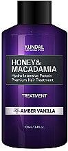 Feuchtigkeitsspendende Haarspülung mit Amber und Vanille - Kundal Honey & Macadamia Amber Vanilla Treatment — Bild N2