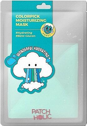 Feuchtigkeitsspendende Tuchmaske mit Beta-Glucan - Patch Holic Colorpick Moisturizing Mask — Bild N1