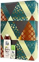 Düfte, Parfümerie und Kosmetik Körperpflegeset - Fa (Duschgel 250ml + Deo Roll-On 50ml)