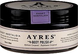 Düfte, Parfümerie und Kosmetik Körperpeeling mit Gardenie und Vitaminen - Ayres Sweet Nostagia Body Polish