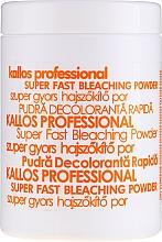 Düfte, Parfümerie und Kosmetik Aufhellendes Haarpulver - Kallos Cosmetics Powder For Hair Bleaching