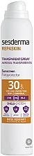 Düfte, Parfümerie und Kosmetik Wasserfestes Sonnenschutzspray für den Körper SPF 30 - SesDerma Laboratories Repaskin DNA Repair Spray Transparente SPF30
