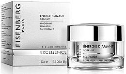 Düfte, Parfümerie und Kosmetik Regenerierende, reparierende und festigende Nachtpflege mit Diamantenpuder - Jose Eisenberg Energie Diamant Soin Nuit