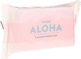 Düfte, Parfümerie und Kosmetik Handgemachte Naturseife mit Rose-, Veilchen-, Maiglöckchen- und Moschusduft - Oh!Tomi Aloha Flamingo Power Soap