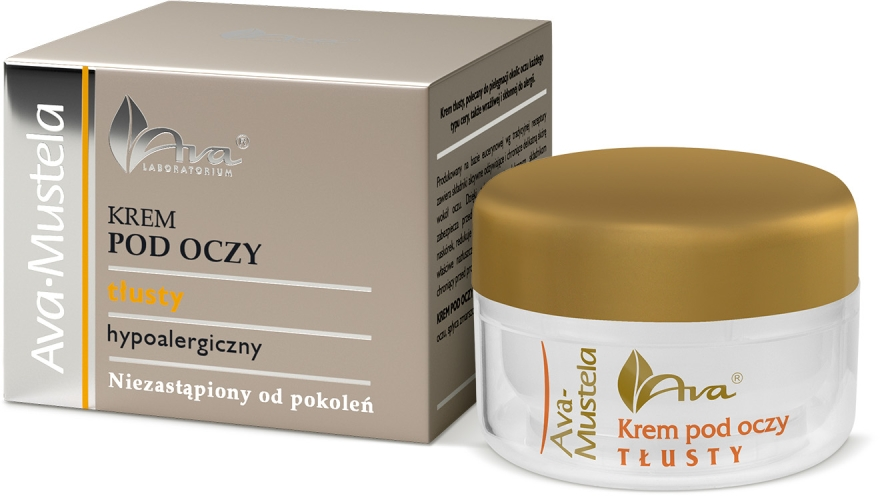 Reichhaltige hypoallergene Augencreme - Ava Laboratorium Ava Mustela Cream