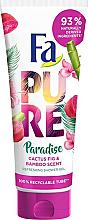 Düfte, Parfümerie und Kosmetik Duschgel mit Kaktusfeigen- und Bambusduft - Fa Pure Paradise Shower Gel Cactus & Bamboo