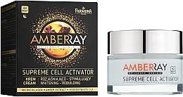 Düfte, Parfümerie und Kosmetik Zellaktivierende und aufhellende Nachtcreme - Farmona Amberray Night Cream