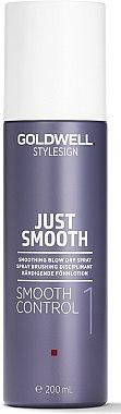 Bändigende Föhnlotion - Goldwell Style Sign Just Smooth Control Blow Dry Spray — Bild N1