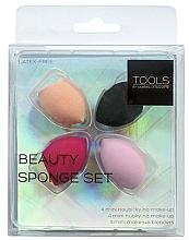 Düfte, Parfümerie und Kosmetik Mini Make-up Schwämmchen-Set 4 St. - Gabriella Salvete Tools Beauty Sponge Set
