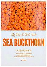 Düfte, Parfümerie und Kosmetik Tuchmaske mit Schalenextrakt - A'pieu My Skin-Fit Sheet Mask Sea Buckthorn