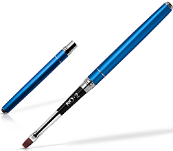 Düfte, Parfümerie und Kosmetik Manikürepinsel 2 mm blau - Silcare