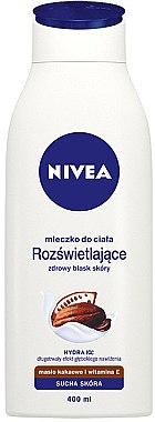 Körpermilch mit Kakaobutter für trockene Haut - Nivea Cacao Body Milk — Bild N1