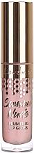 Düfte, Parfümerie und Kosmetik Lipgloss - Lovely Summer Nude Plumping Lip Gloss