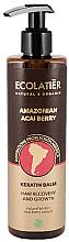 Düfte, Parfümerie und Kosmetik Keratin-Balsam mit Acai-Beere Extrakt - Ecolatier Amazonian Acai Berry Hair Balm