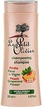 Düfte, Parfümerie und Kosmetik Shampoo für normales Haar - Le Petit Olivier Peach Grapevine Flower Shampoo