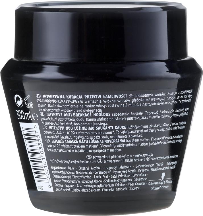 Haarmaske - Syoss Ceramide Complex Intensive Anti-Breakage Treatment — Bild N2