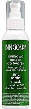 Düfte, Parfümerie und Kosmetik Zink Gesichtsmaske mit Coenzym Q10, Aloe, Kamille und Flachs - BingoSpa Zinc Mask