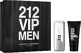 Düfte, Parfümerie und Kosmetik Carolina Herrera 212 VIP Men - Duftset (Eau de Toilette/100ml + Duschgel/100ml)