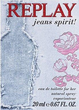 Replay Jeans Spirit! For Her - Eau de Toilette — Bild N3