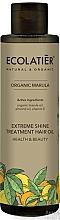 Düfte, Parfümerie und Kosmetik Haaröl für mehr Glanz mit Vitamin E, Marula- und Mandelöl - Ecolatier Organic Marula Extreme Shine Treatment Hair Oil