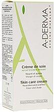 Düfte, Parfümerie und Kosmetik Nährende und beruhigende Körper- und Gesichtscreme mit Hafermilch - A-Derma Creme De Soin Cream With Oat Milk
